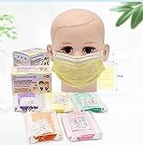 Niños - 50 Mascarillas Quirúrgicas Multicolor para Niños - Aprobadas - Desechables 3 capas - Certifi...