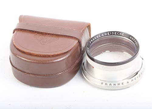 Price comparison product image ROLLEIFLEX Bay 1 ROLLEINAR 1 Lens in Leather Original CASE