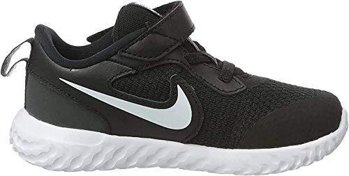 Nike Unisex-Child Revolution 5 (PSV) Running Shoe, Black/White-Anthracite, 30 EU