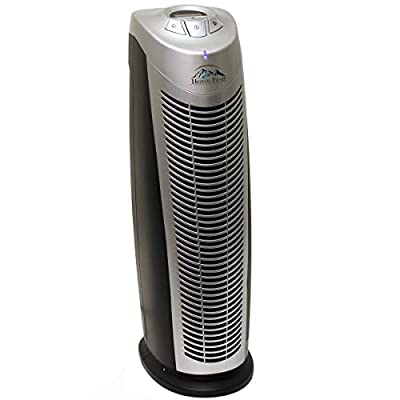 Heaven Fresh 5-in-1 NaturoPure Hepa Air Purifier and Ioniser for Home, Office, Bedrooms with Active Carbon Filter and UV Lamp, Filters Allergies, Pollen, Smoke, Dust, Pet Dander, UV-C Sanitizer Eliminates Germs, Mold, Odors, Powerful for Large Room, 38m²