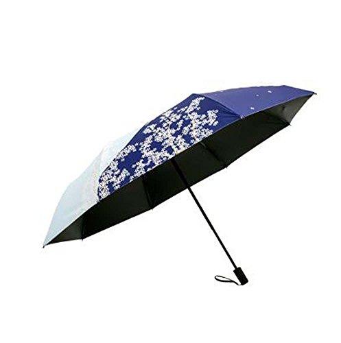 Pare-brise pliante pour parapluie et parapluie de style japonais, Fleur extérieure