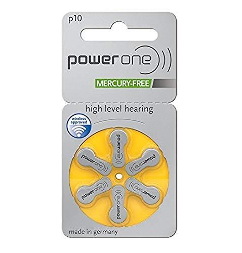Varta Powerone p10para audífonos, sin Mercurio