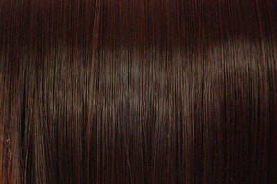 Extensions Cheveux Clips Brunes Foncée Raides   45cm de longeur   Lot de 10 Clips Pièces pour une tê