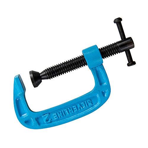 Silverline 277960 G-Klemme, 50 mm, Blau