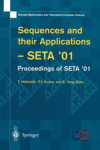 Sequences and their Applications: Proceedings of SETA '01 (Discrete Mathematics and Theoretical Computer Science)の詳細を見る