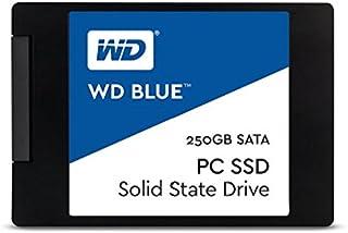 WD Blue, disco de estado sólido (SSD) interno de 250 GB - SATA a 6 Gb/s y 2,5