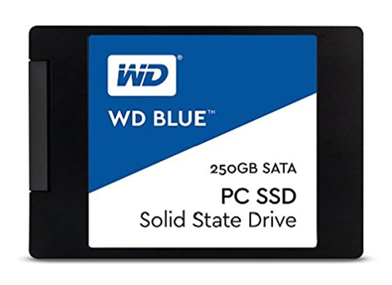 バルセロナイル子音WD SSD 内蔵SSD 2.5インチ 250GB WD Blue WDS250G1B0A/SATA3.0/3年保証