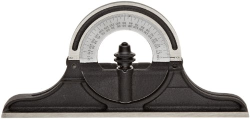 Starrett CPR-1224W Cast Iron Reversible Protractor Head For Combination Squares, Combination Sets And Bevel Protractors