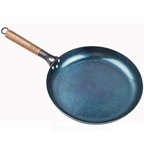 Sartenes para chef Sartén de hierro retro Sartén para panqueques pequeña para el hogar Sartén para panqueques Sartén para panqueques Sartén para filetes sin recubrimiento Protección para la salud y el