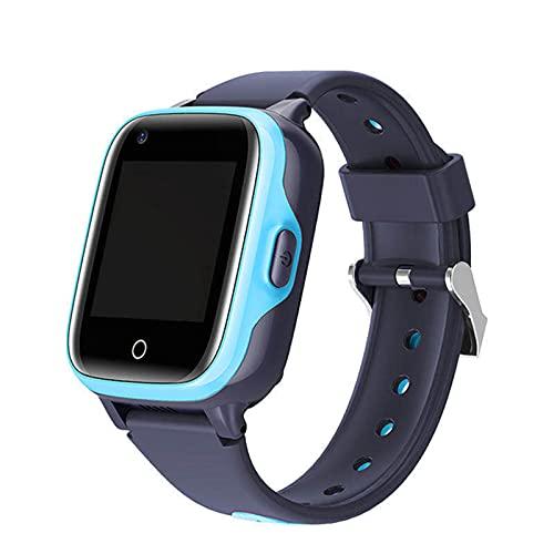 Ake Smart Watch Children's Smart Impermeable GPS WiFi HD 4G Video Llamada Anti-Perdida Children's Watch Student Child Position Tracker,A