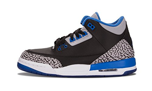 AIr Jordan 3 Retro BG - 4.5Y 'Sport Blue' - 398614 007