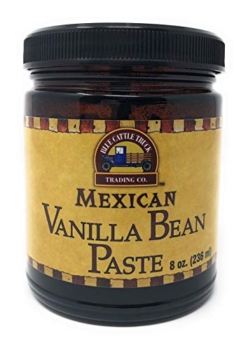 Blue Cattle Truck Trading Co. Gourmet Mexican Vanilla Bean Paste, 8 Ounce (Measured by Weight)
