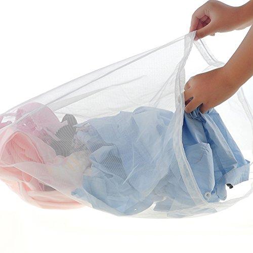 Sukisuki Wäsche Care Home Gadgets BH Kleidung Unterwäsche Schutzhülle Mesh Tasche, Nylon, weiß, M