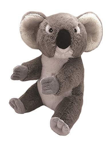 Wild Republic EcoKins Mini Koala Stuffed Animal 8 inch, Eco Friendly Gifts for Kids, Plush Toy, Handcrafted Using 7 Recycled Plastic Water Bottles, Model Number: 25185