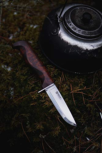 Helle Knives - Speider - Sandvik 12C27™ Stainless Steel - Traditional Field Knife - Made in Norway