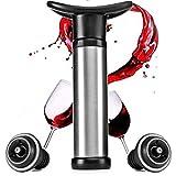 Tapones de vino Tapón de botella de vino Sellador de vacío Ahorro de vacío Reutilizable Tapa de botella Bar Accesorios Tapón de vino Tapón de silicona con bomba