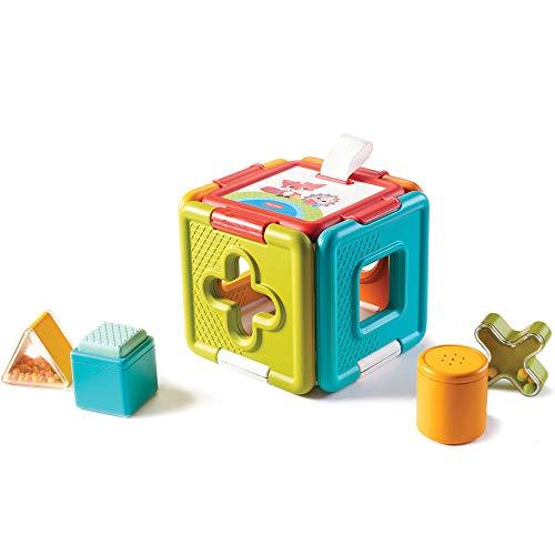 Tiny Love 3333150431 Shape Sorter & Puzzle Gioco Educativo per Bambini, Giodo delle Forme ad Incastro e Puzzle 2 in 1, dai 6 Mesi, Collezione Meadow Days