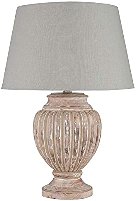 Pacific Lifestyle Table Lamp, Grey Antique