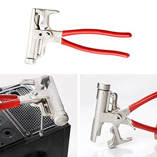 10 en 1, destornillador de martillo multifuncional, pistola de clavos, alicates de tubo, llave, tornillo de banco, herramientas de reparación de mantenimiento de muebles, martillo universal-ESPAÑA