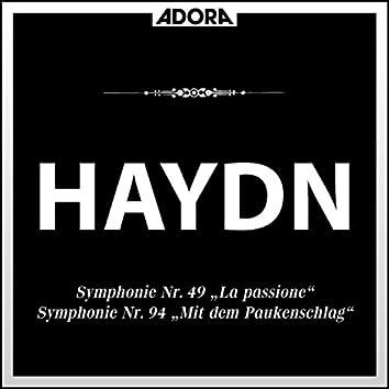 Haydn: Symphonie No. 88, No. 49 und No. 94