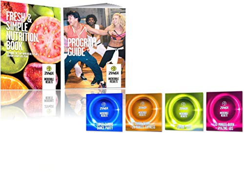 Zumba Incredible Results Weight Loss Dance Workout Value Pack
