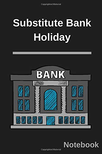 Substitute Bank Holiday: Funny Euro Litecoin Coinbase Gift for mom Anker power bank Great funny Journal inspector banks 6x9 inch 120 Pages energizer power bank.