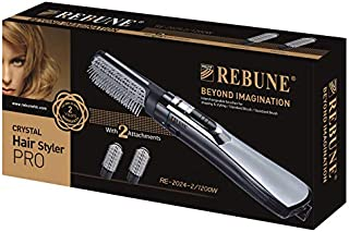 REBUNE RE-2024-2, 3 in 1 Hair Styler, Black