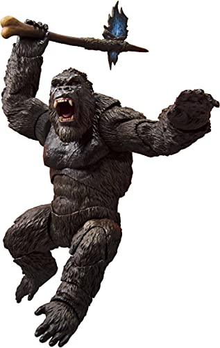 S.H.モンスターアーツ KONG from Movie 『GODZILLA VS. KONG』(2021) (仮) 約145mm PVC&ABS製 塗装済み可動...