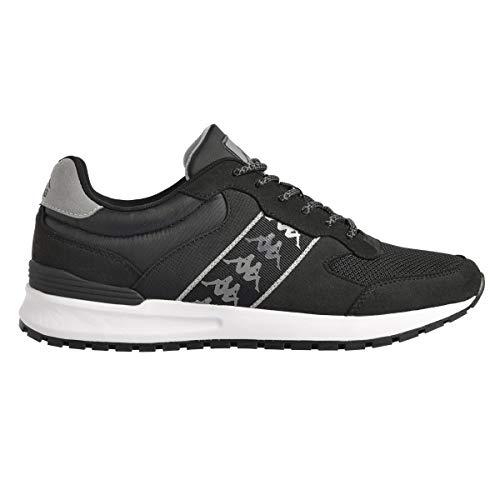 Kappa Męskie buty lekkoatletyczne Jolino, czarny - czarny i szary - 44 EU