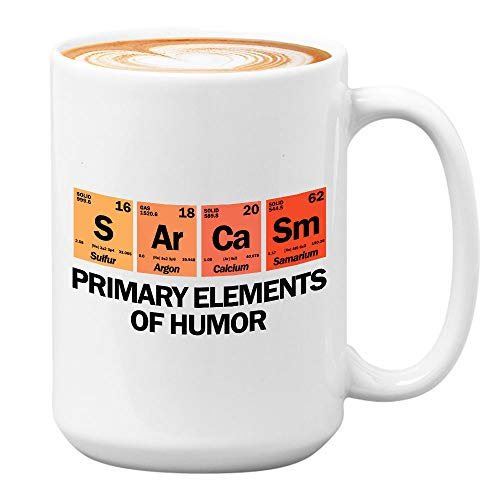 Funny Science Mug Geeky Coffee Mugs for Nerd Science Student Teacher Chemistry