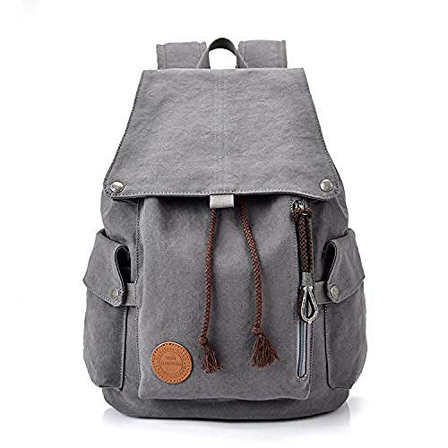 Zaino Da Donna Antifurto Borse Spalla Etro Unisex Casual Canvas Borsa A Tracolla College Da Donna E Taccuino Brain Work School Travel Outdoor Alpinismo Camping Girl Backpack
