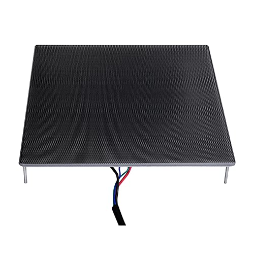 Kstyhome 3D-Druckerplattform Ultrabase Heat Bed Build Surface Glasplatte für Ender 3 Upgrade Parts MK2 MK3 Hotbed Sticker Kompatibel mit CR10/CR10S PRO/Any-cubic MEGA-X 310x310mm