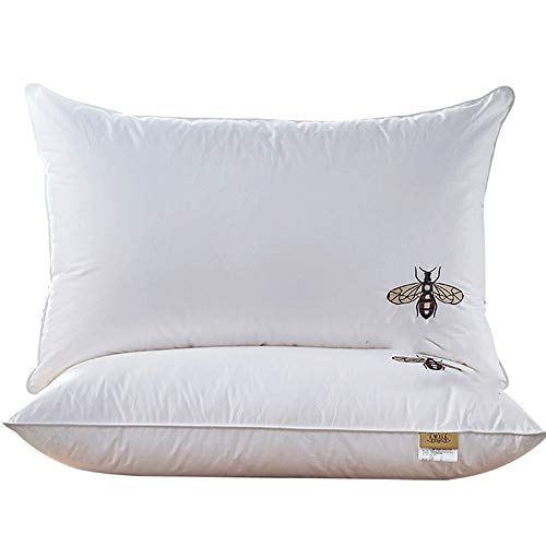 Nologo YY-JJ Breathable And Comfortable Healthy Sleeping Pillow Zero Pressure Memory Pillow Neck Health For Stomach Back&Side Sleepers,pillow (Size : Style Middle)