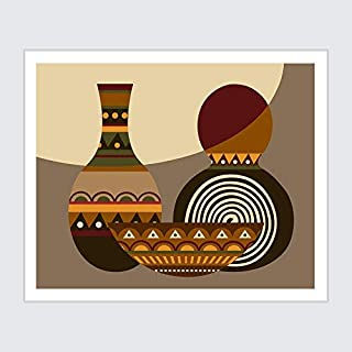 Pretty Shine African Calabash Gourds Afrocentric Decor Gifts for Lovers Poster Poster Home Art Wall Posters [No Framed]