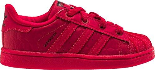 adidas Originals Superstar Triple Red EL I Zapatillas de Correr para niños