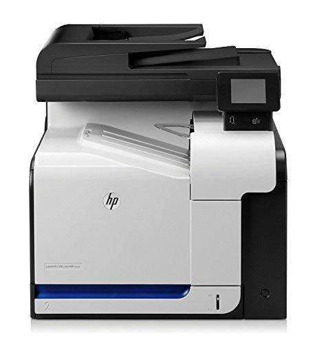 HP LaserJet Pro 500 M570dw e-All-in-One Farblaser Multifunktionsdrucker (A4, Drucker, Scanner, Kopierer, Fax, Wlan, Ethernet, USB, 600x600)