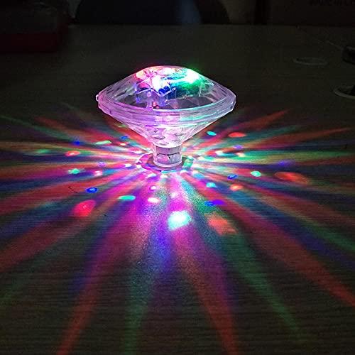woyada Bunte Badewannenbeleuchtung mit 7 Beleuchtungsmodi, Schwimmbad-Lampe, kreatives dekoratives Licht, bunte Badewannen-Spielzeug-Lichter, Disco-Pool-Party-Lichter für Teichbrunnen