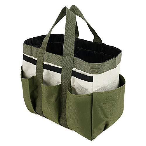 Garden Tool Storage Bag 600D Oxford 8 Pockets Gardening Tote Bag Tools...