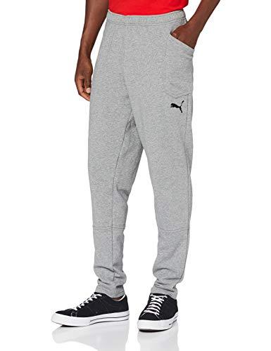 Puma Herren Liga Casuals Pants Hose, Medium Gray Heather Black, L