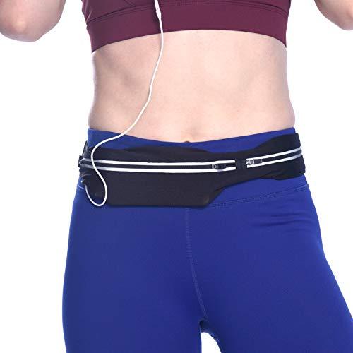 SPRING SEAON Running Belt Waist Bag Runners Waist Pack Bounce-Free Waist Phone Workout Jogging Adjustable Fanny Pouch for Women Men
