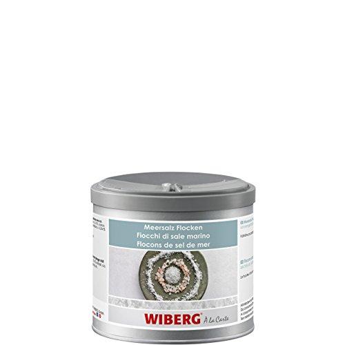Wiberg - Meersalz Flocken, sonnengetrocknet, 350g, Aromatresor
