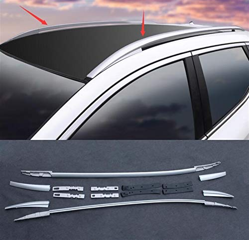 DSSQABR-11 Roof racks & boxes Car-styling Aluminum Alloy Roof Rack Side Rails Bars Roof Racks A Pair Case Fit For Nissan Qashqai 2016-2017