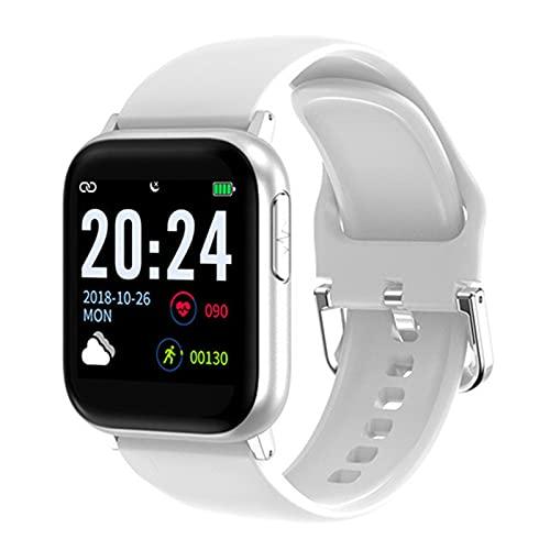 LKM V6 Reloj Inteligente Mujer Presión Arterial Ritmo Cardíaco Monitor PPG ECG Actividad Fitness Tracker Pulsera Electronic Health Smartwatch,B