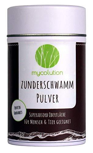 Mycolution Zunderschwamm Pulver 30g | inkl. Reinheitszertifikat