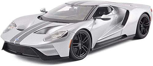 WASHULI Druckguss-Legierung Auto-Modell-Spielzeug 01.18 Ford GT Simulation Ornamente Sports Car Collection Schmuck 26x12.5x6CM