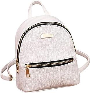 Amazon.es: mochila cuero - Blanco