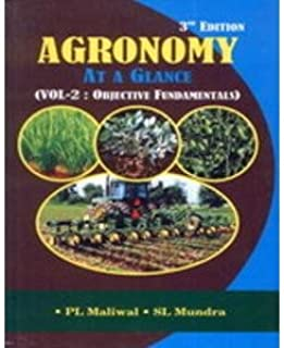Agronomy At A Glance vol-2 : Objective Fundamentals