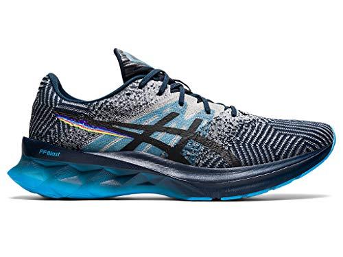 ASICS Men's Novablast Running Shoes, 11, French Blue/Black