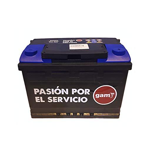 Batería de Arranque De 12V, 75Ah. Batería Para Coche, Furgoneta y Camión, 640 A