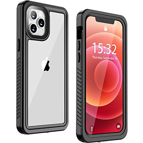 Nineasy for iPhone 12 Case,iPhone 12 Pro Case, IP68 Waterproof Shockproof...